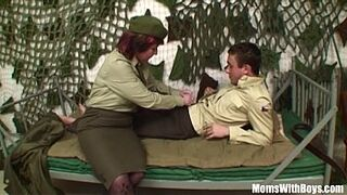 Pierced Vagina Senior Army Officer Reprimands A Soldier